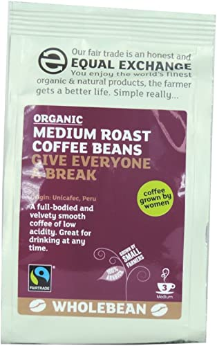 Equal Exchange - Medium Roast Coffee Beans - 227g (Case of 8)