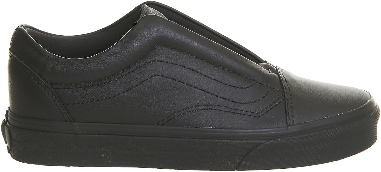 Vans Unisex Old Skool Laceless Leather Sneakers