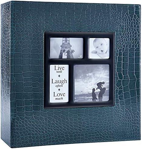 Ywlake Photo Album 4x6 1000 Pockets Photos Croco Extra Large Capacity Family Wedding Picture product image