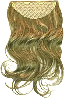 Mia Clip-n-Hair, Clip On Synthetic Wig Hair Piece, Hair Extensions, Blonde 22