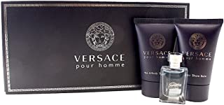 Versace Pour Homme for Men, 3 Piece Mini Gift Set