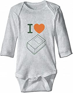 I Love Books Not Kindle Romper Jumpsuit Baby Outfits