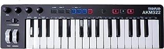 AKM322 کنترل کننده صفحه کلید MIDI 32 کلید با Cubase LE