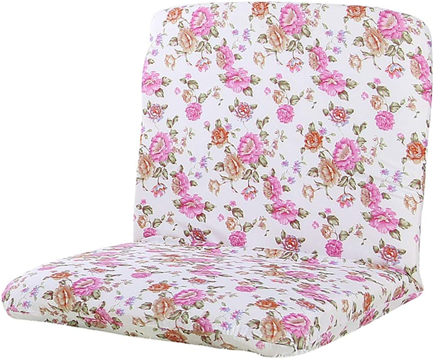 Adjustable Lazy Sofa Lounger Chair Foldable Floor Bay Window Single Sofa Couch Cushion Seat Washable (color   Pink)