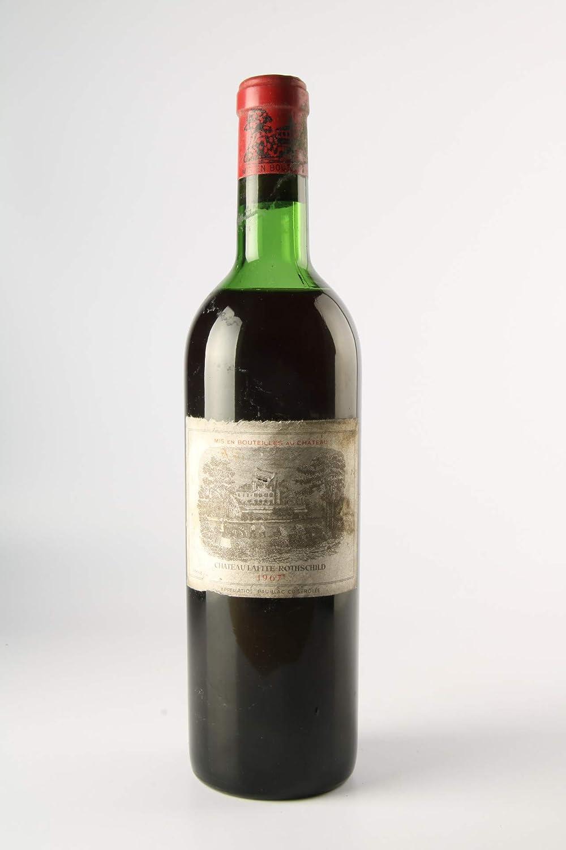 CHÂTEAU LAFITE ROTHSCHILD 1967-1er Cru Classé - (Etiqueta dañada)