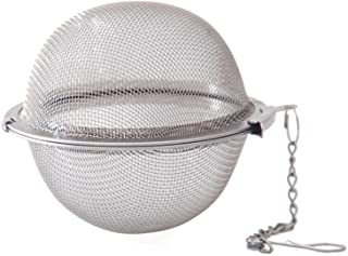 Dreamseeker 304 Seasoning Ball, Stainless Steel Tea Maker, Soup Hot Pot Spice Ball Leaking Tea Filter