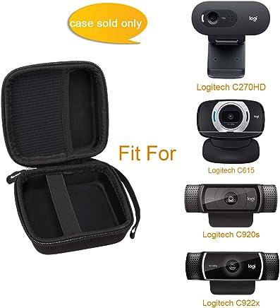 Neewer 33,8cm Support de Fixation Pince avec Bras Long Flexible Rotatif Support en Col de Cygne pour Logitech Webcam Brio 4K C925e C922x C922 C930 C930 C930 C920 C615