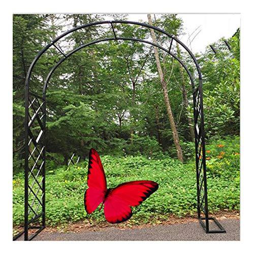 HLMBQ Arco de Rosas Enrejado Soporte De Decoración para Pérgola Celosía Jardín Patio Cenador Plantas Trepadoras al Aire Libre Duradero 1.4x2.3m,2.2x2.3m,3x2.3m,4x2.3m