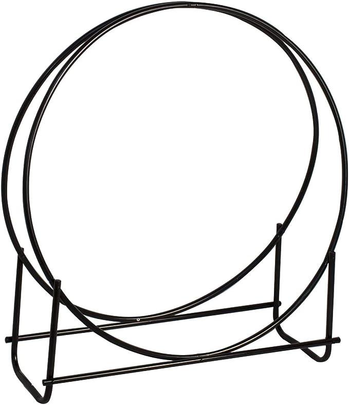Panacea 15209 40-Inch Tubular Steel Log Hoop - Stylish