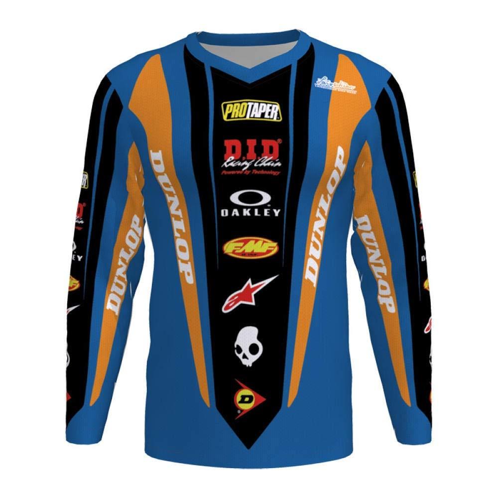 GBYGDQ Camisa Ropa De La Motocicleta Jerseys De La Motocicleta De Moto del Motocrós Bici De Montaña Jersey T (Color : Orange, Size : XL): Amazon.es: Hogar