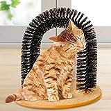 Arco gatto gatti spazzola massaggio grattino base tiragraffi massaggiatore