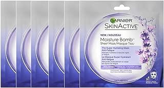 garnier moisture bomb lavender sheet mask
