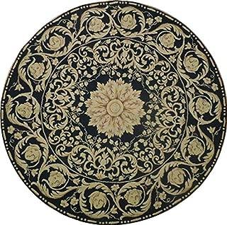 all black rug