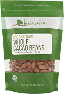 raw organic cacao beans