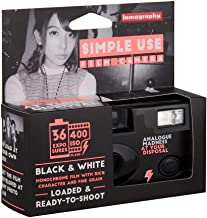 Lomography Simple Use Camera, Black and White Negative (SUC100BW)