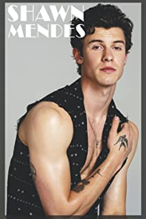 """SHAWN MENDES NOTEBOOK: SHAWN MENDES Notebook   120 pages   """"6 x 9""""   Collage Lined Pages   Journal   Diary   For Students,..."""
