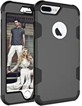 iPhone 8 Plus Case, AOKER [New] [Drop Protection] [Anti-Scratch] Three Layer Heavy Duty High Impact Resistant Shockproof Full-Body Protective Case for iPhone 8 Plus (5.5