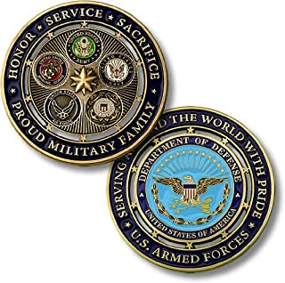Northwest Territorial Mint Proud Military Family Challenge Coin…