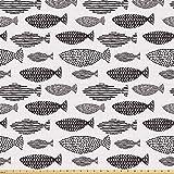 ABAKUHAUS Fisch ausdehnbar mit Elestan für