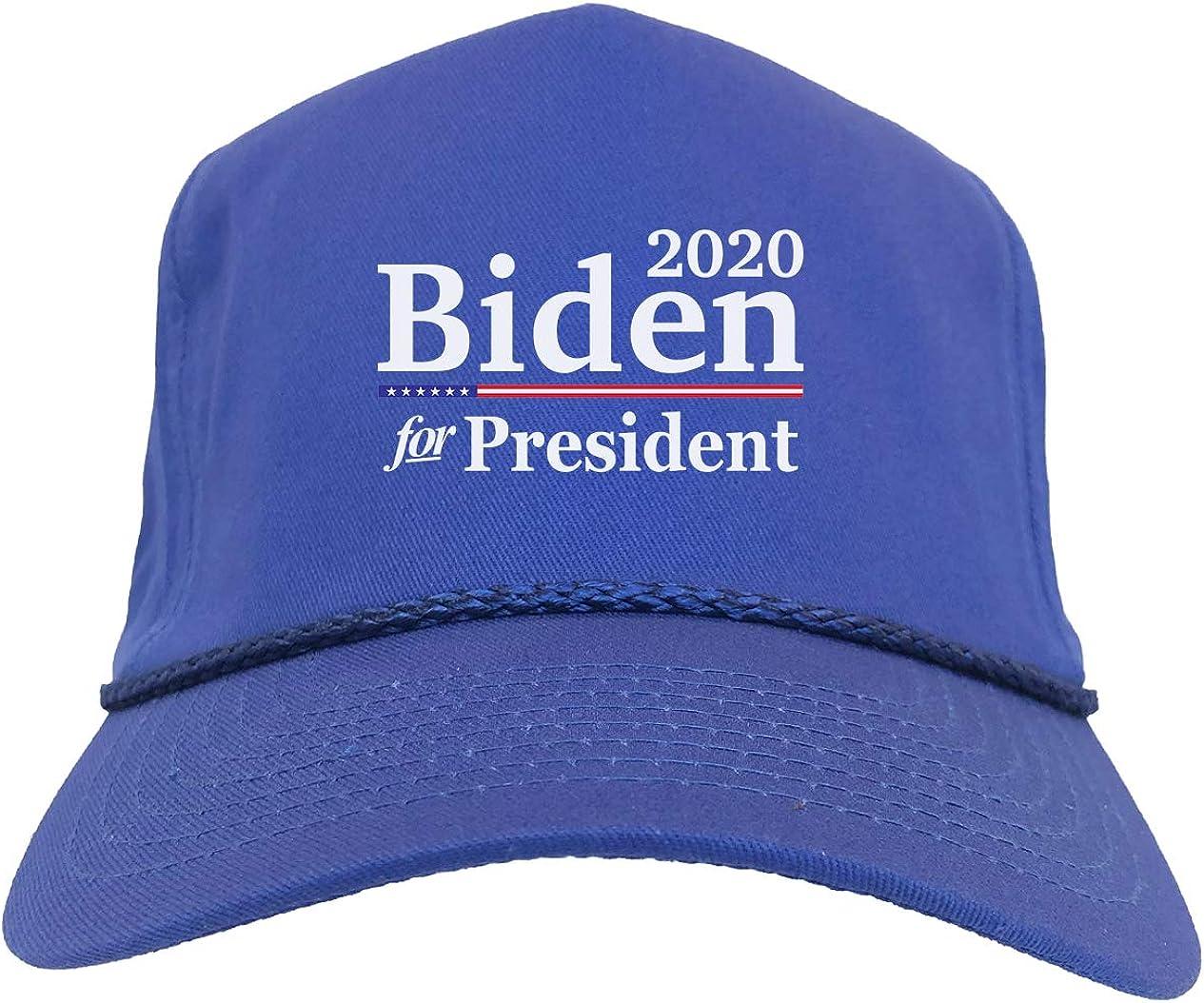 Rvest Casquette de Baseball en Coton Joe Biden 2020 Votez pour Votre pr/ésident pour l/élection du pr/ésident Casquette Ajustable brod/ée de Casquette de Baseball Joe Biden