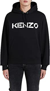 Kenzo FA65SW3004MD Felpa con Cappuccio Nero 99 Uomo