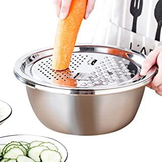 Trancheuse Mandoline Coupe-légumes Veggie Dicer Fournitures De Cuisine Créative Légumes Disque en Acier Inoxydable Shredde...