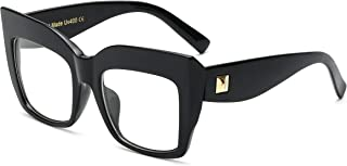 Square Oversized Glasses Frame Eyewear Women B2475