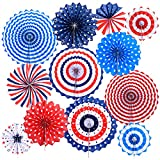 Perfect Decoration:Add a fun touch to your party, patriotic event, 4th of July party, carnival celebration, home decoration etc. Also great for a veteran's homecoming party,Veterans Day, a political rally or other event, and more. You can use them in...