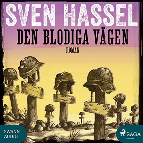 Den blodiga vägen audiobook cover art