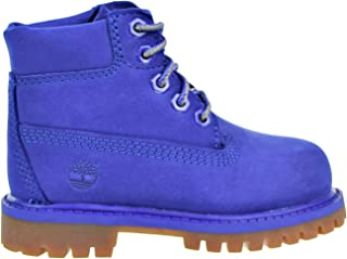 Timberland 6 Inch Premium Waterproof Toddler's Boots Blue tb0a1p6k