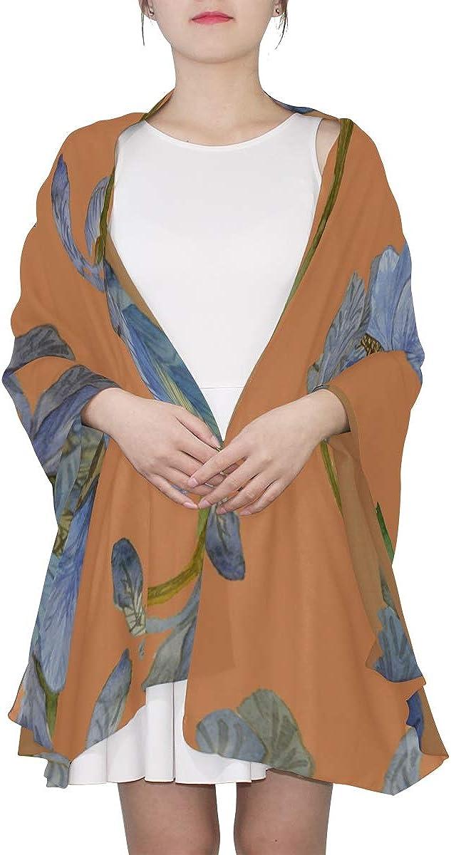 Wrap Or Shawl Blue Retronatural Flower Camellia Womens Fashion Scarfs Lightweight Scarf For Girls Lightweight Print Scarves Scarf For Men Lightweight Scarf Toddler