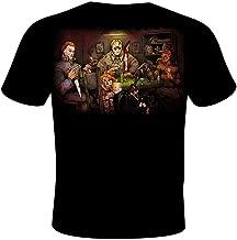 Get Down Art Men's Slasher's Playing Poker T-Shirt from Gda