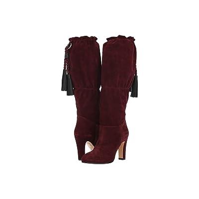 Etro Suede Boot (Burgundy) Women