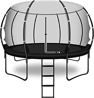 Studsmatta studsmatta stege kombo studsmatta hoppa trampolin inomhus- och utomhus fitnessutrustning med skyddande nät för ...