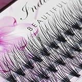 Scala 8/10/12/14/16mm False Eyelashes 20 D Natrual Mink Hair Silk Lashes Eyelash Extensions Fake Lashes 0.07 Thickness (12mm)