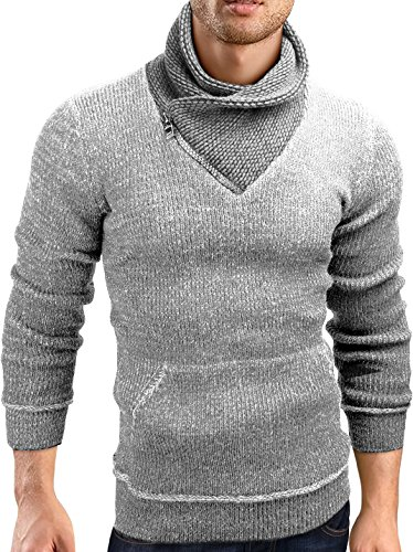 Grin&Bear Slim fit Pullover Grof gebreid vest heren, GEC570