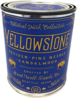 Good And Well Supply Co., Candle National Park Pint Yellowstone, 14 Ounce
