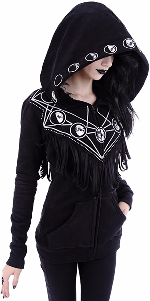 Restyle Occult Wicca Moon Max 66% OFF Geometry Hoo Tassel Punk Special price Gothic Nugoth