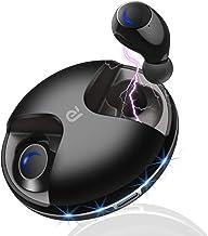 Wireless Earbuds, Bluetooth 5.0 True Wireless Headphones, Hands Free Sweatproof Earbuds 15H Playing Time Built-in HD Dual ...