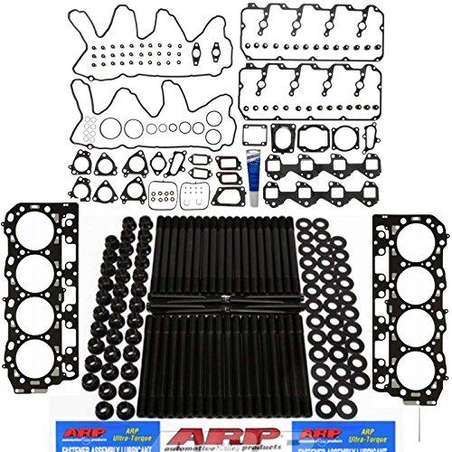 ARP Stud Kit w/Mahle Head Gasket Set & Grade 'C' Head Gaskets - Duramax LMM 6.6