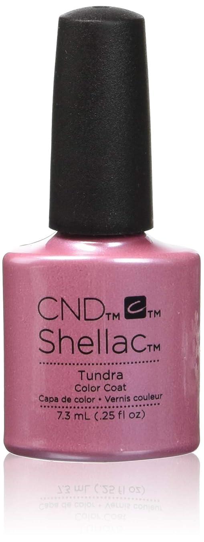 ぬるい媒染剤番号CND シェラック UV カラーコート 212 ツンドラ Tundra 7.3ml
