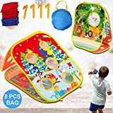 IROO Bean Bag Toss Game Toy for Toddlers Age 3 4 5 6 Year Old, Fun Gift for Boys Girls Birthday,...