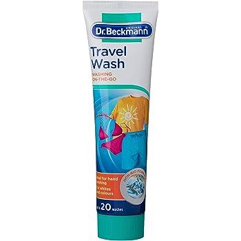ドクターベックマン 旅行用洗濯洗剤 ジェルタイプ 軟水硬水エリア対応 トラベルウォッシュ 100ml