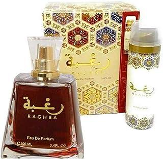 Raghba by Lattafa for Unisex - Eau de Parfum, 100ml