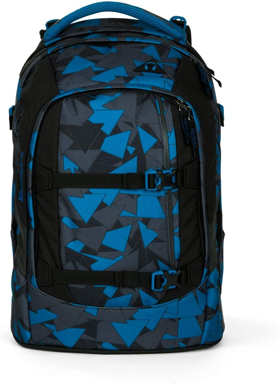 Satch Schulrucksack-Set 4-TLG Pack Blau Triangle Blau Blau Blau B01M66DXGX | Deutschland Berlin  06a2fb