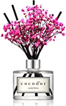 Cocod'or Preserved Real Flower Diffuser/Lovely Peony/6.7oz/Diffuser Oil & Sticks Set/Fragrance for Home Office Aromatherapy and Gifts