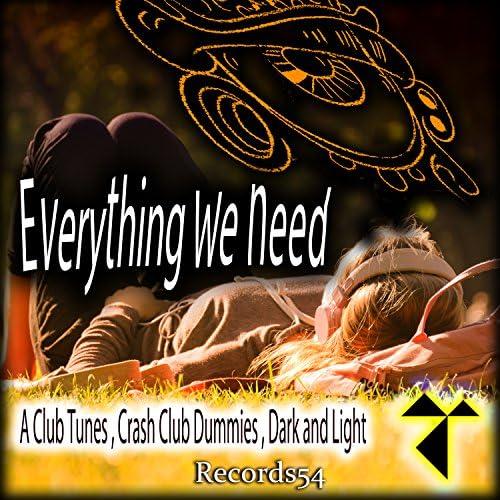 A Club Tunes, Crash Club Dummies & Dark and Light