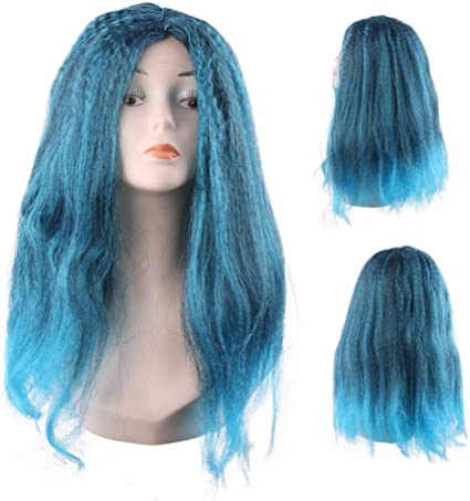 La peluca COS se puede editar trenzada hembra larga peluca de ...