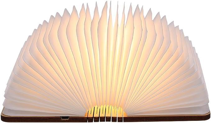 2220 opinioni per lampada Libro USB Ricaricabile,Tomshine Lampada Led a Forma di Libro, Mini