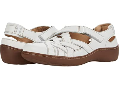 Clarks Cora Dream (White Leather) Women